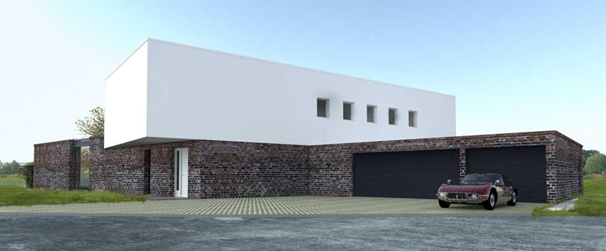 Einfamilienhaus luxus  Luxus-Einfamilienhaus Tüddern | Rongen Architekten Davignon